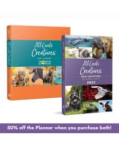 All God's Creatures 2022 Devotional & Planner Bundle
