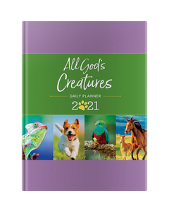 All God's Creatures Daily Planner 2021