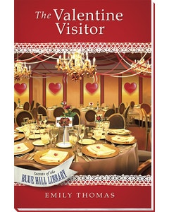 The Valentine Visitor Book Cover