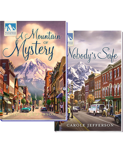 Mysteries of Silver Peak 2 Book Set: A Mountain of Mystery and Nobody's Safe