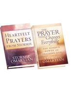 The Prayer that Changes Everything / Heartfelt Prayers from Stormie: Large Print Edition