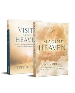 Imagine Heaven and Visits from Heaven 2 book Set
