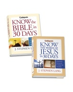 Know the Words of Jesus & Know the Bible in 30 Days Book Set