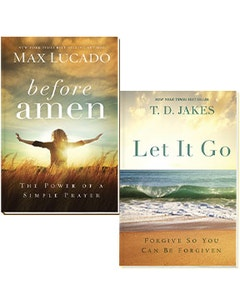 Before Amen & Let It Go 2 Book Set Covers