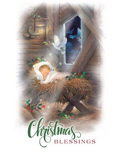 Christmas Blessings gatefold cover