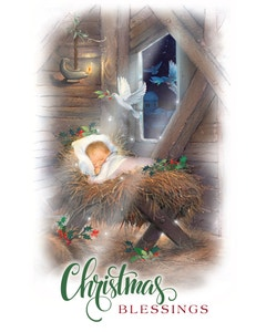Christmas Blessings booklet cover