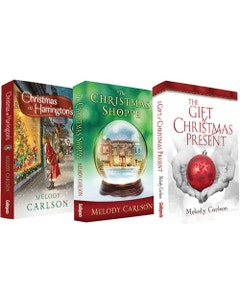 The Christmas Shoppe, Christmas at Harrington's & The Gift of Christmas Present 3 Book Set