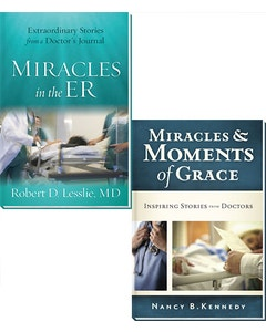 MIRACLES IN THE ER AND MIRACLES & MOMENTS OF GRACE 2 BOOK SET