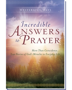 Incredible Answers to Prayer Book Cover