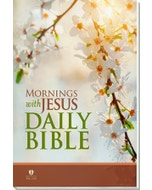 Mornings with Jesus Daily Bible - Cover Image