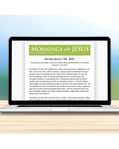 Mornings with Jesus - Daily Email Subscription
