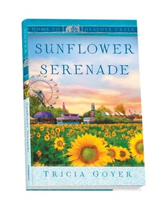 Sunflower Serenade Book Cover