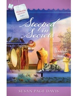Steeped in Secrets - Tearoom Mysteries - Book 13