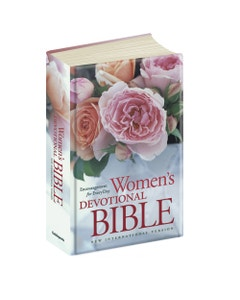 Women's Devotional Bible Side Cover