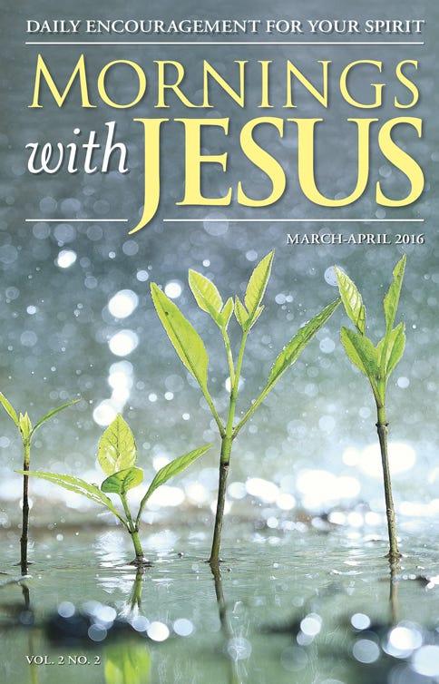 Mornings with Jesus Magazine