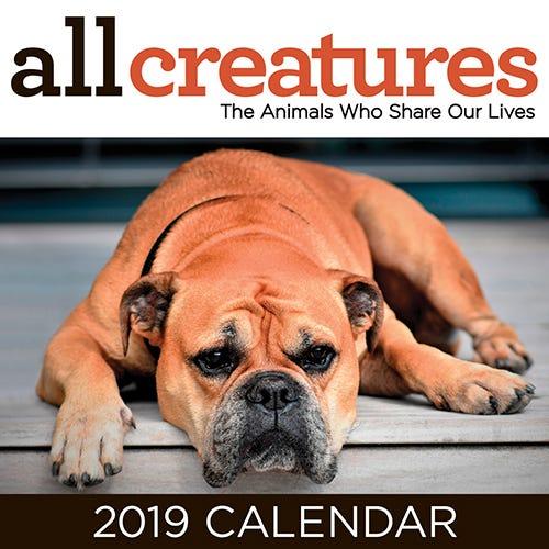 All God's Creatures Magazine free gift - Calendar