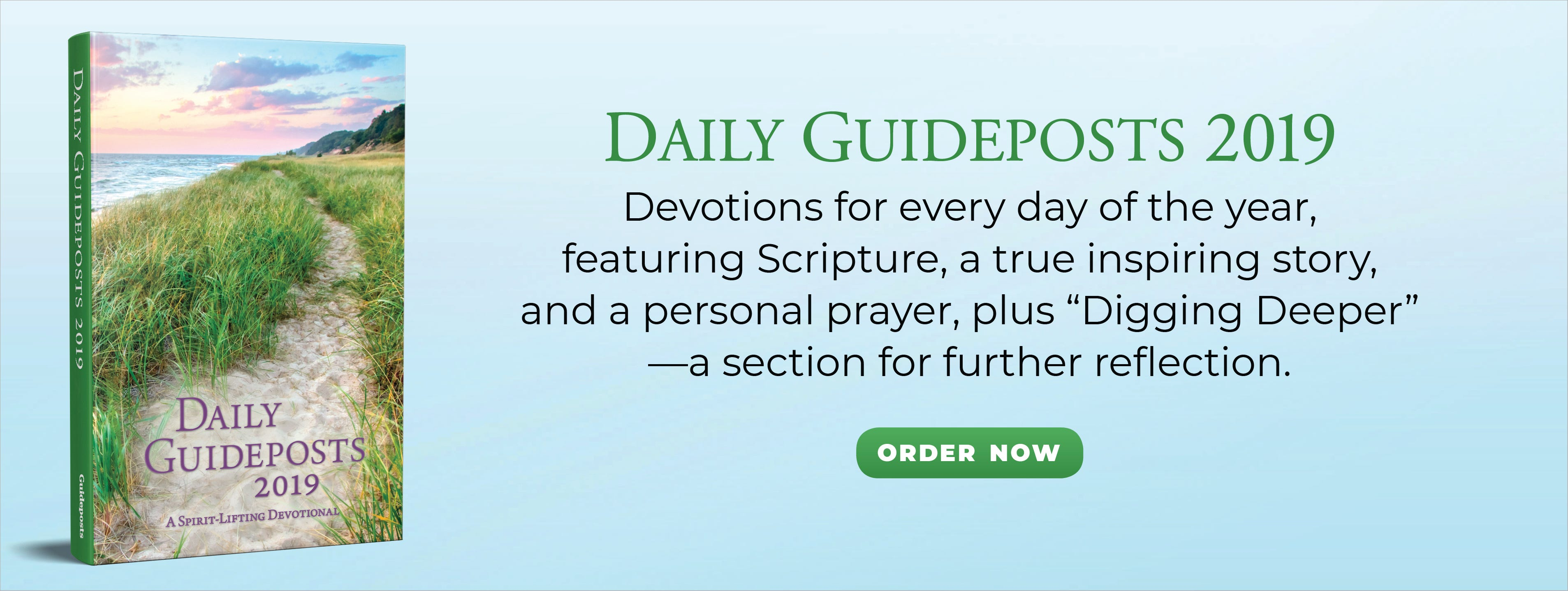 Learn more about Daily Guideposts 2019!