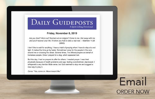 Daily Guideposts Devotional Emails