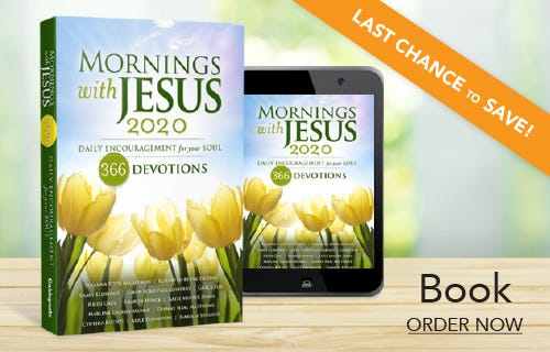 Mornings with Jesus 2020 Book