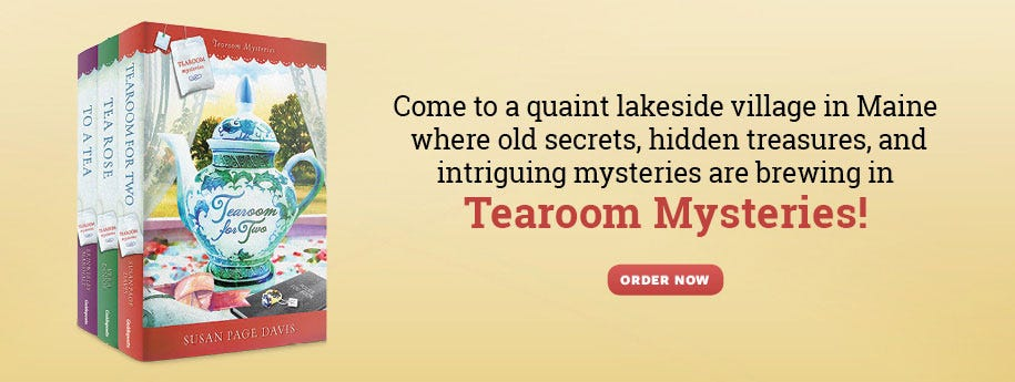 Learn More about Tearoom Mysteries!